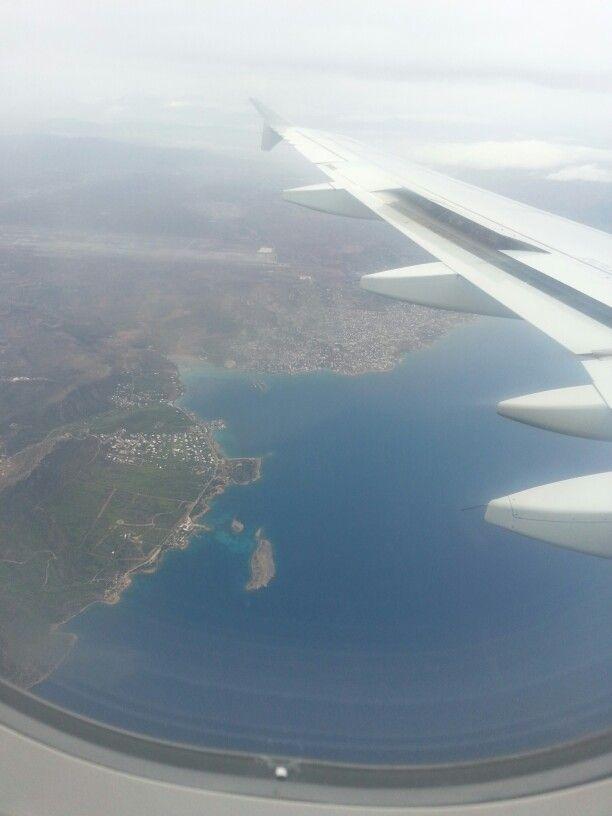 Cielo griego  Athenas Grecia