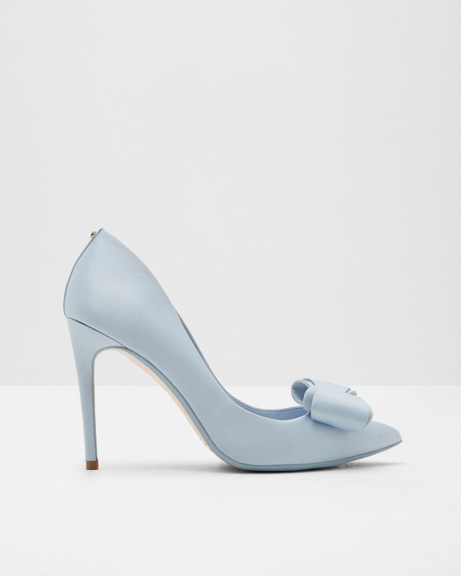 Azeline Blue Shoes, Ted Baker #blue #wedding #shoe