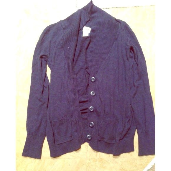 Mossimo navy cardigan with pockets and big buttons | Target, Navy ...
