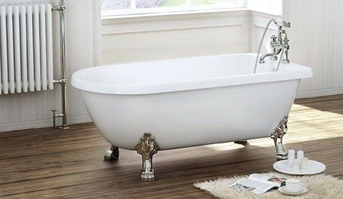 Cambridge freestanding 1470mm x 735mm traditional bath for Bathroom design cambridge