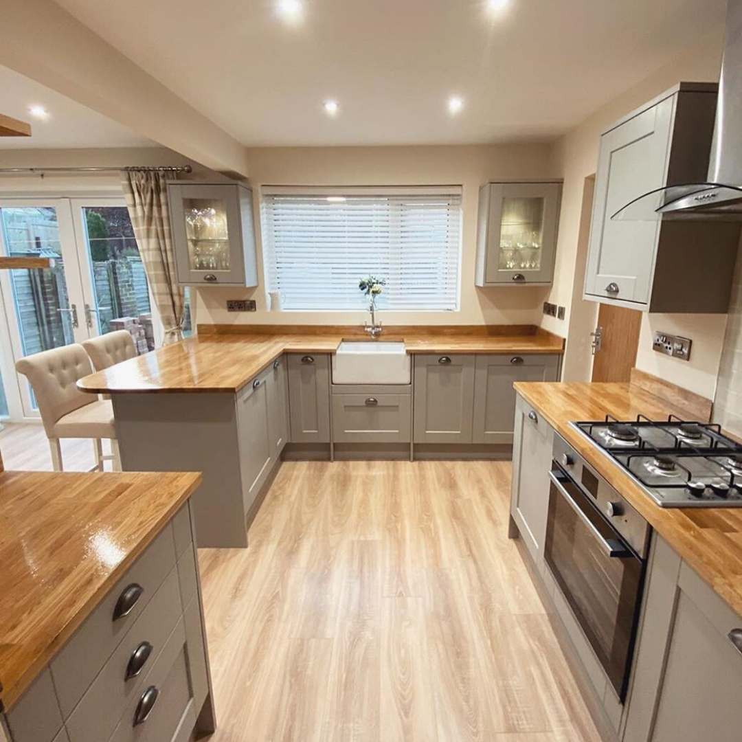 Fairford Grey Kitchen