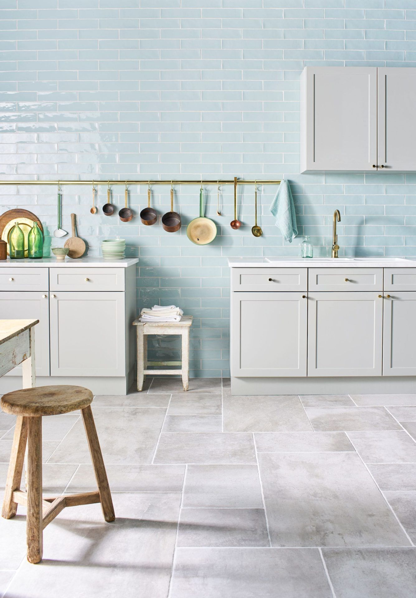 Küchen Dekorplatte Gelato Mint Blue Gloss Decorative Collection Kitchen Pinterest