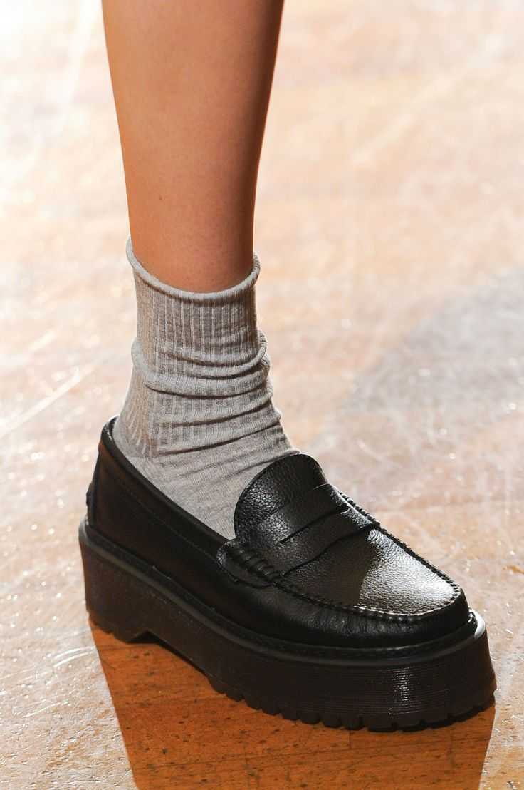 Frankie Morello Fall 2014 is part of Dress shoes men, Trending womens shoes, Womens fashion shoes, Fashion shoes, Casual shoes women, Trending shoes - While everyone else is obsessing over the clothes coming down Milan's biggest runways, we're looking down — specifically at the bags and shoes  Scroll