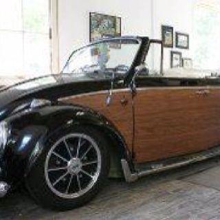 VW woody convertible