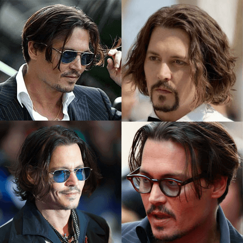 Johnny Depp Long Hairstyle Johnny Depp Long Hair Johnny Depp Hairstyle Boy Hairstyles