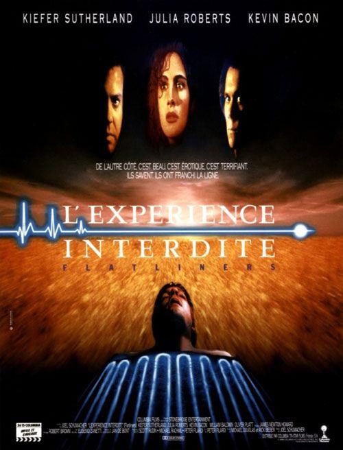 L'expérience interdite (1991) - Joel Schumacher - Kiefer Sutherland, Julia Roberts, Kevin Bacon