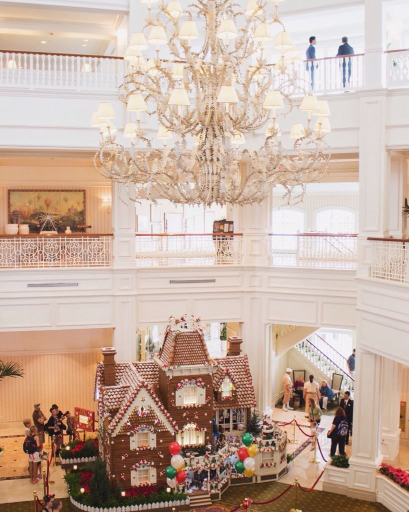 Grand Floridian at Disney gingerbread house