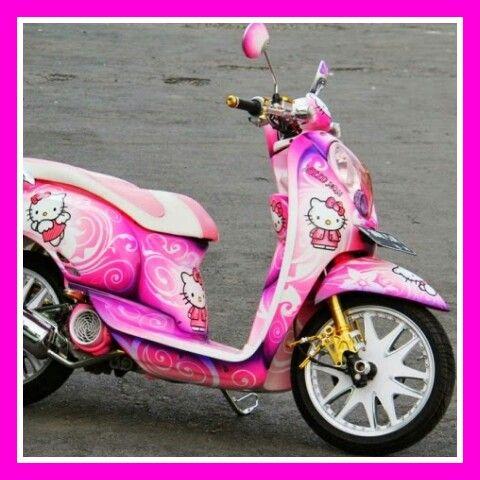 Cute Hello Kitty Motor Bike Hello Kitty Honda Hello Kitty Bike