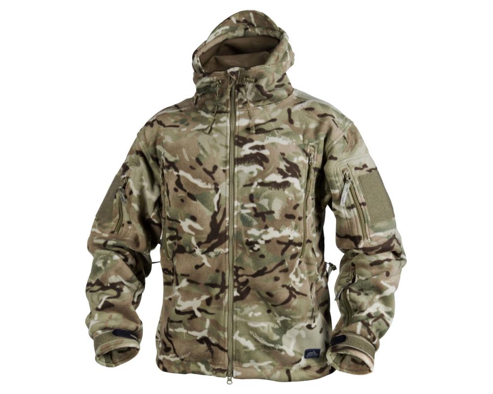 Polar helikon patriot heavy fleece jacket mp camo remember this