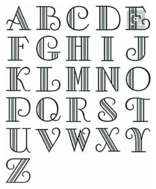 Color accent stripe font | Lettering alphabet, Lettering ...