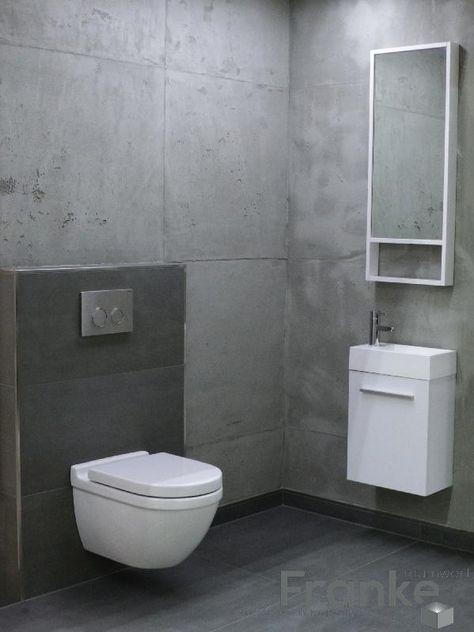 wandfliese in betonoptik die gestaltungsm glichkeiten sind schier unbegrenzt fliesen. Black Bedroom Furniture Sets. Home Design Ideas
