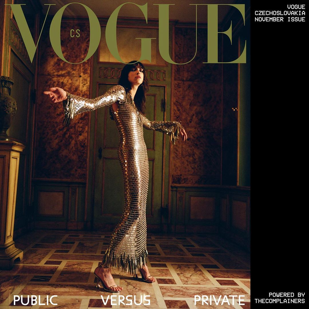"""@thecomplainers shared a photo on Instagram: """"Public Versus Private cover of Vogue Czechoslovakia @vogueczechoslovakia PRODUCED BY US #thecomplainers Photo @luca.campri Stylist…"""" • Oct 22, 2020 at 9:28am UTC"""