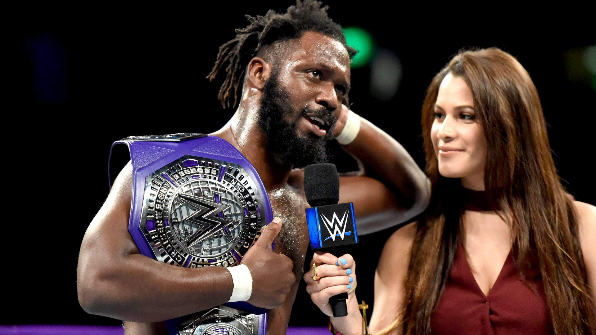205 Live results Rich Swann captures Cruiserweight Title