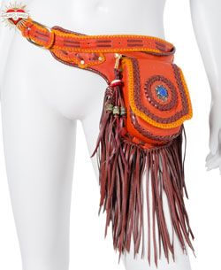 Money Belt.... So this is one hippy pack I would actually sport.  LOL... clothed though and not in the buff like this manequin me'thinks!