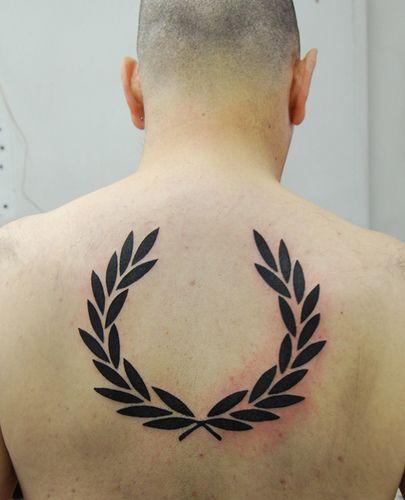 lorbeerkranz tattoo