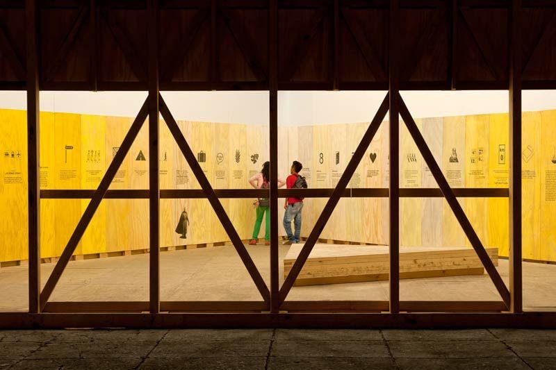 Pavilion for the Culture Fair 2014, Mexico / PRODUCTORA