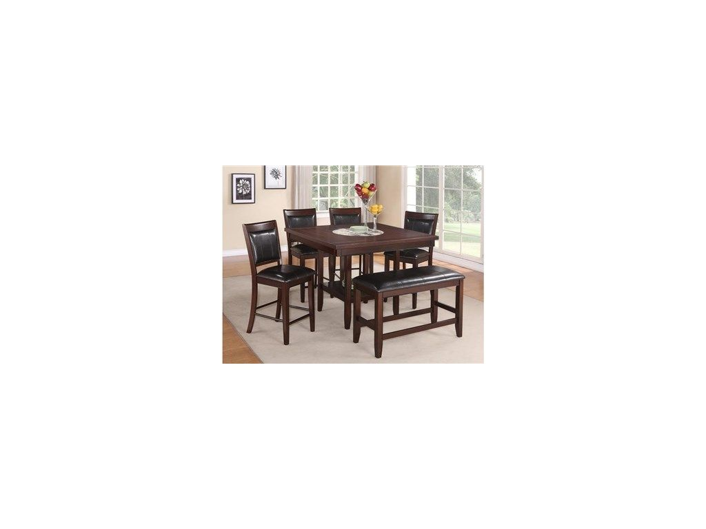 Ordinaire Dining Room Belk 5pc Group Includes Counter Table And Four Stools Belk 5pc  Counter Dining Group   Colfax Furniture And Mattress