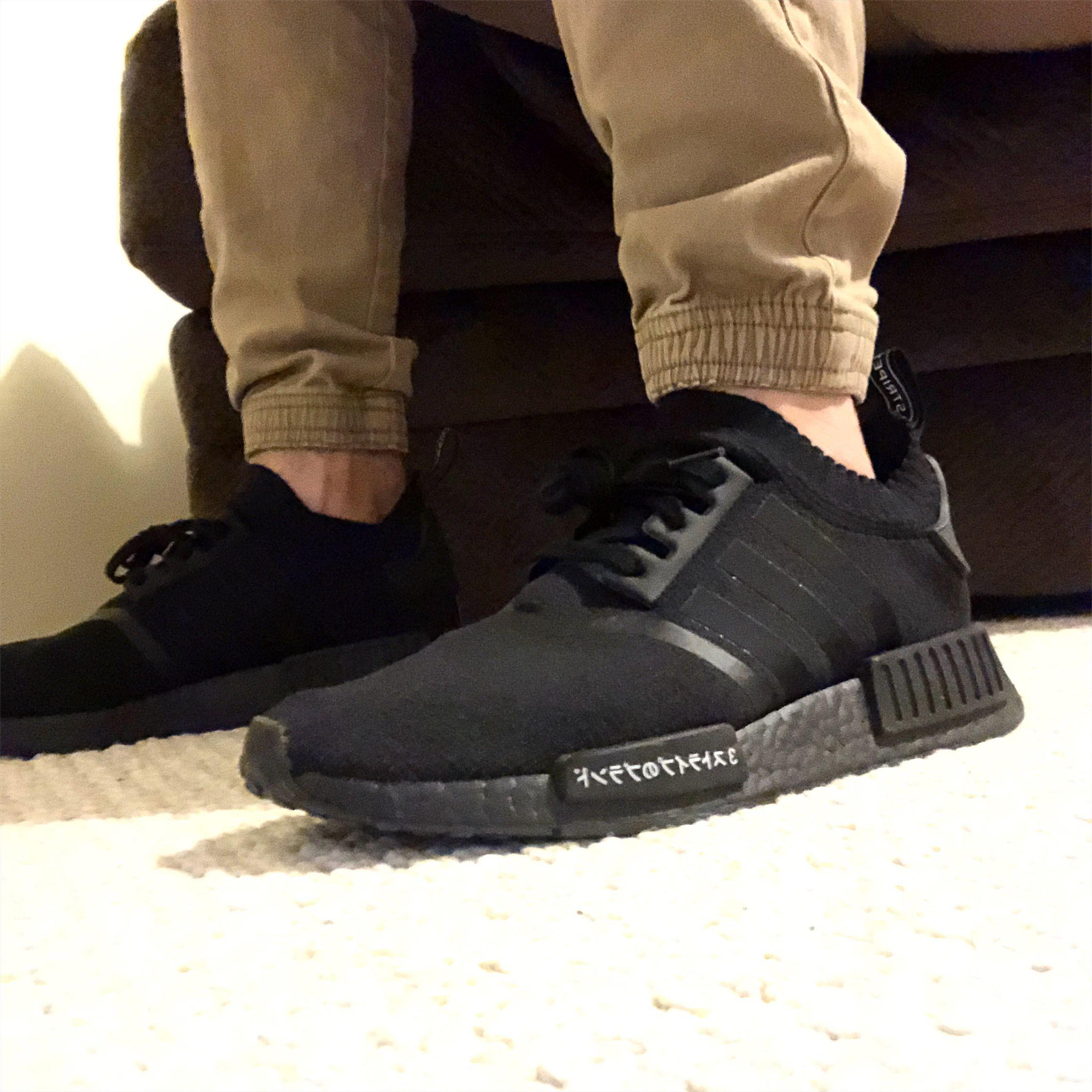 Adidas Nmdr1 Pn Triple Black Japans Adidas Adidas Sneakers