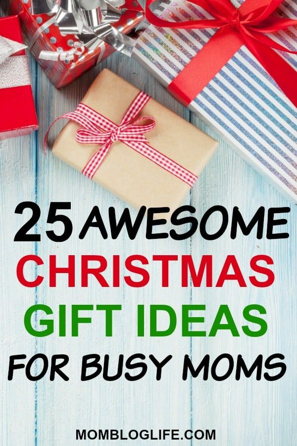 25 Christmas Gift Ideas For Busy Moms | Christmas presents ...