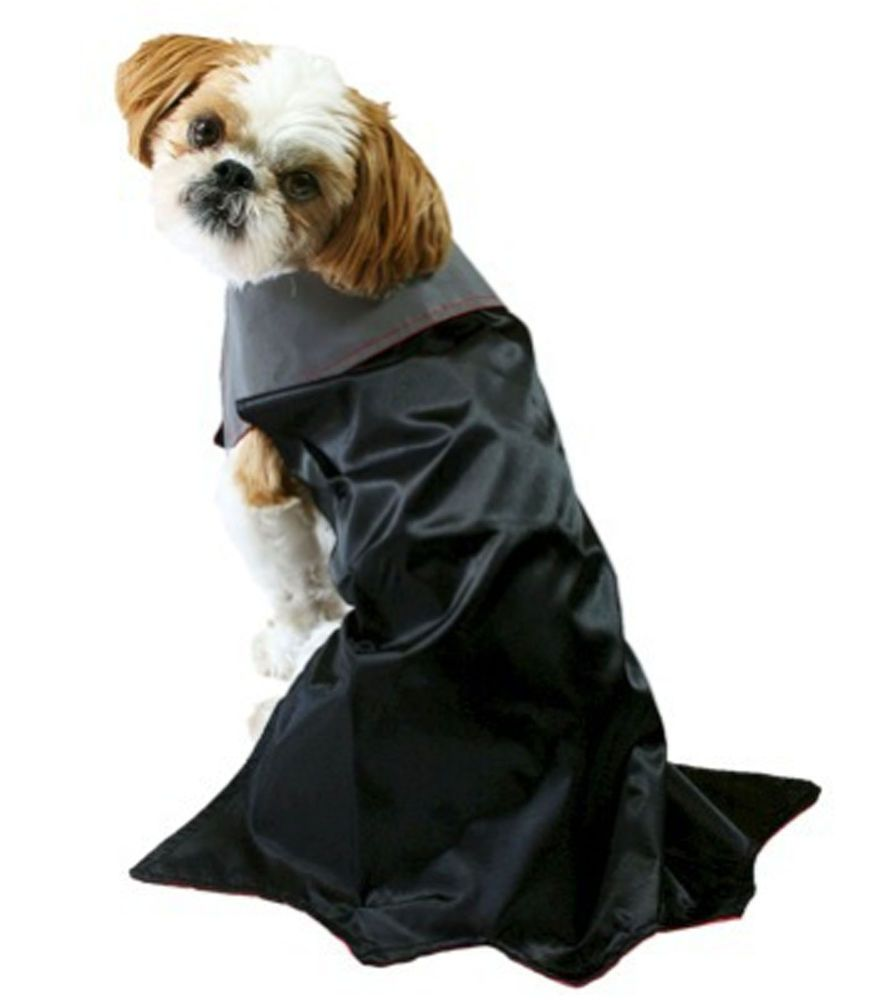 Details About Reflective Vampire Cape Count Dracula Dog Costume