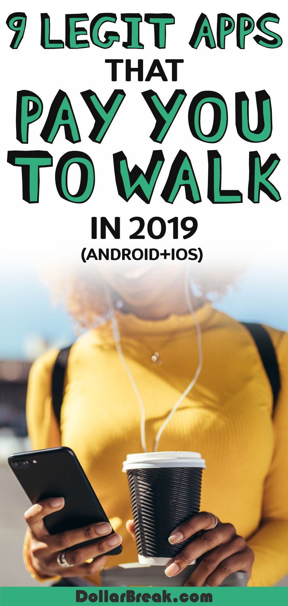 9 Legit Apps that Pay You to Walk in 2020 (Android+IOS
