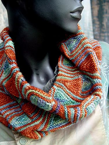 Snood Barcelona pattern by Svetlana Gordon | knitted creations ...