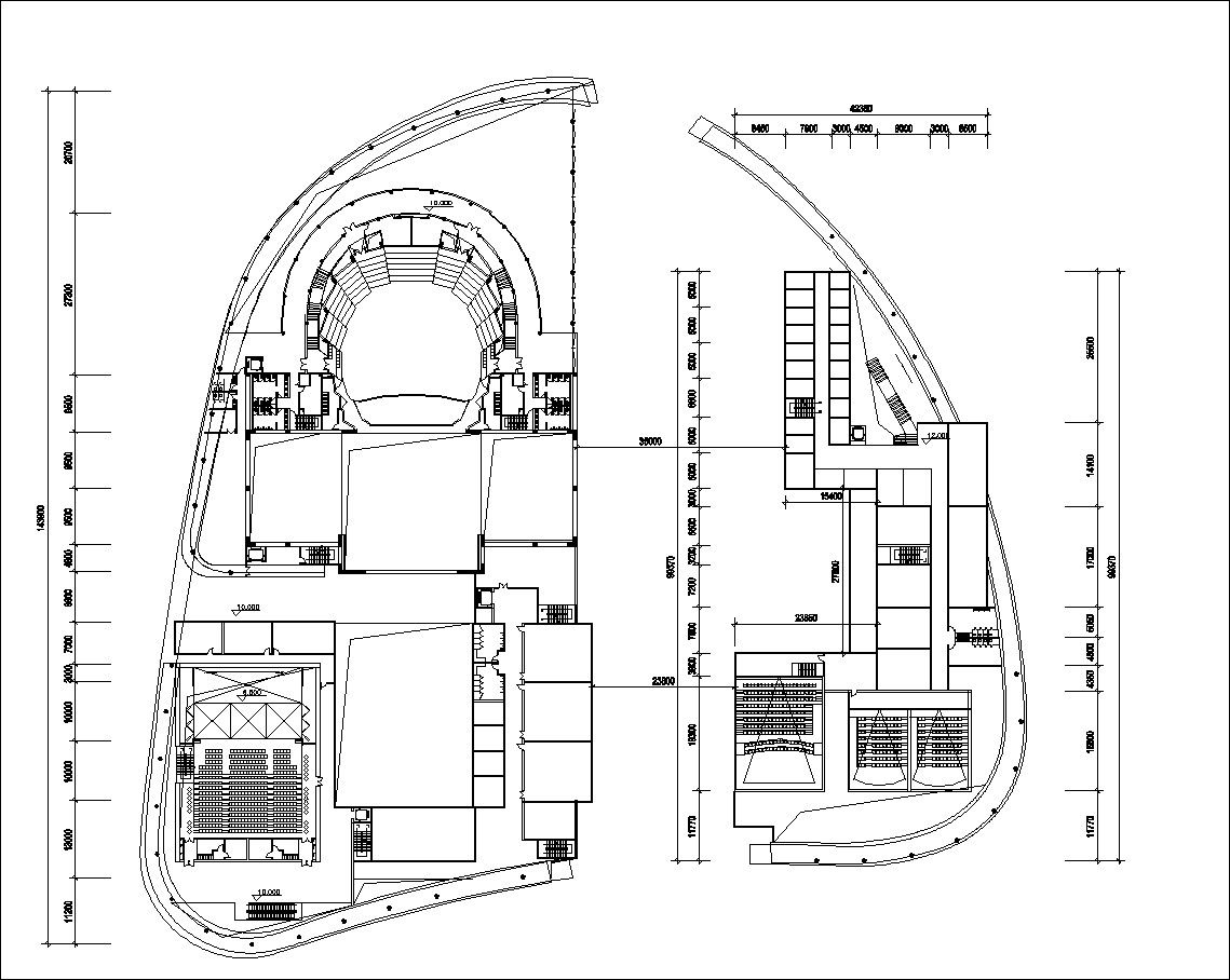 Pin On Cutural Center Cad Drawings