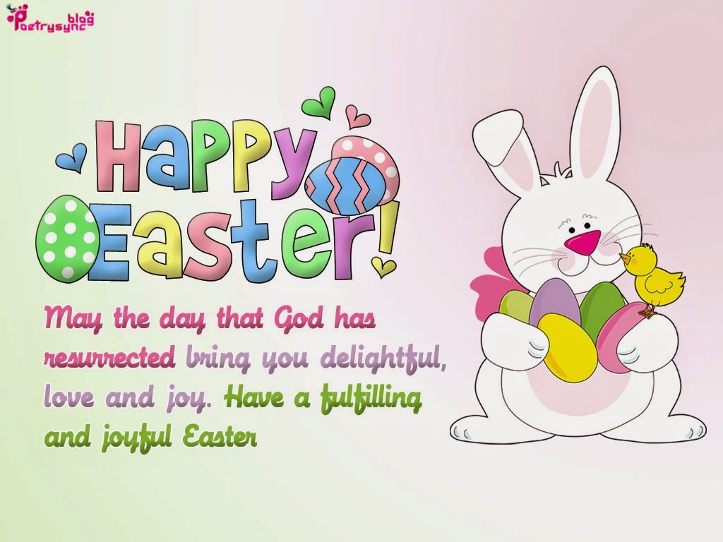 Poetry Happy Easter Greeting Ecard Pictures With Wishes Sms
