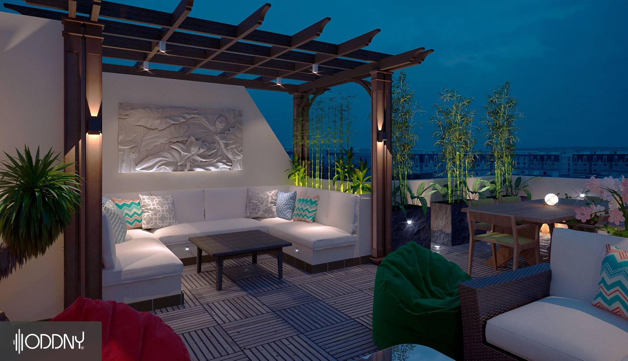 Cozy Rooftops By Oddny Design Studio The Best Standards Of Cost Time And Quality Oddn Studio Interior Residential Interior Design Creative Interior Design