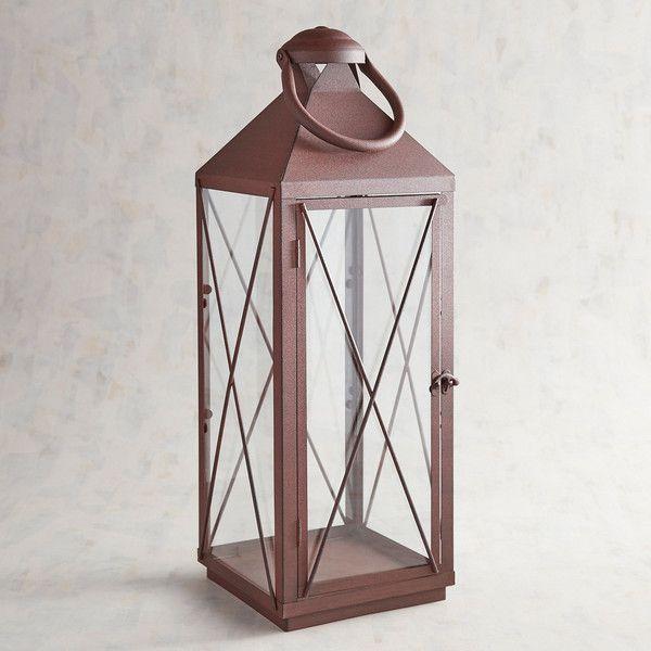 pier 1 imports bennett large metal lantern 40 liked on