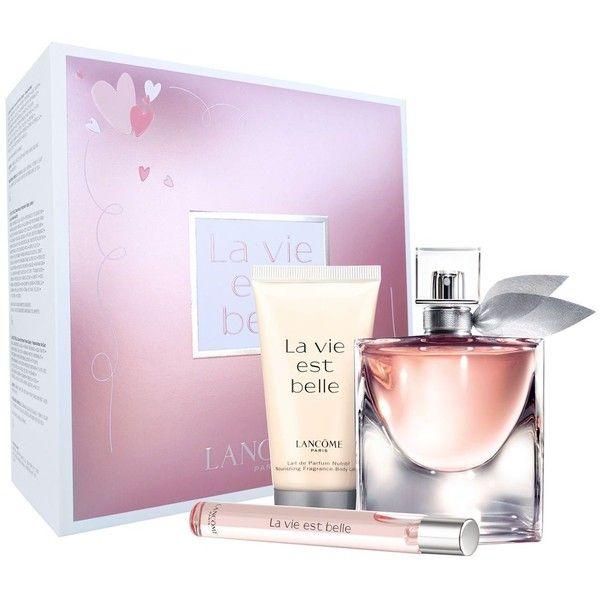 lancome la vie est belle valentine's day gift set ($92) ❤ liked, Ideas