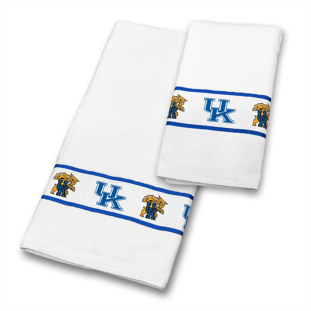 kentucky wildcats bath towels | kentucky, towels and products