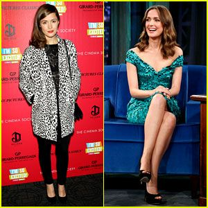 Rose Byrne 'I'm So Excited' Premiere amp; 'Fallon' Appearance