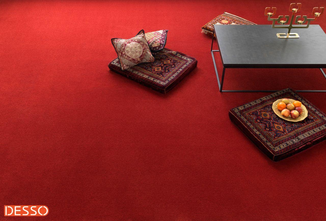 Rode Vloerbedekking Slaapkamer : Desso tapijt inova twin rood. #interieur #modern #rood #tapijt
