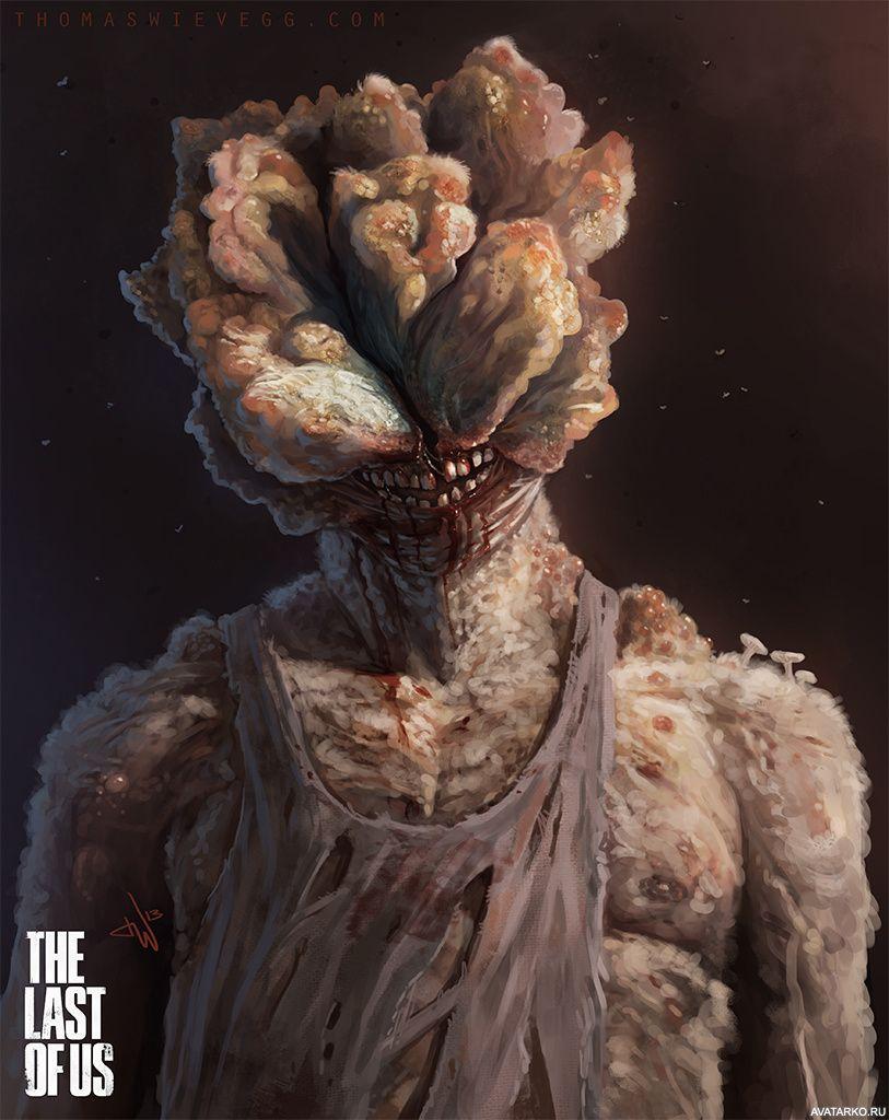 Слепой мутант щелкун из игры The Last of Us — Картинки для ...