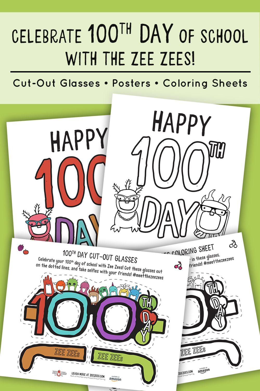 100th Day Of School Activities 100 Days Of School Free School Printables School Activities