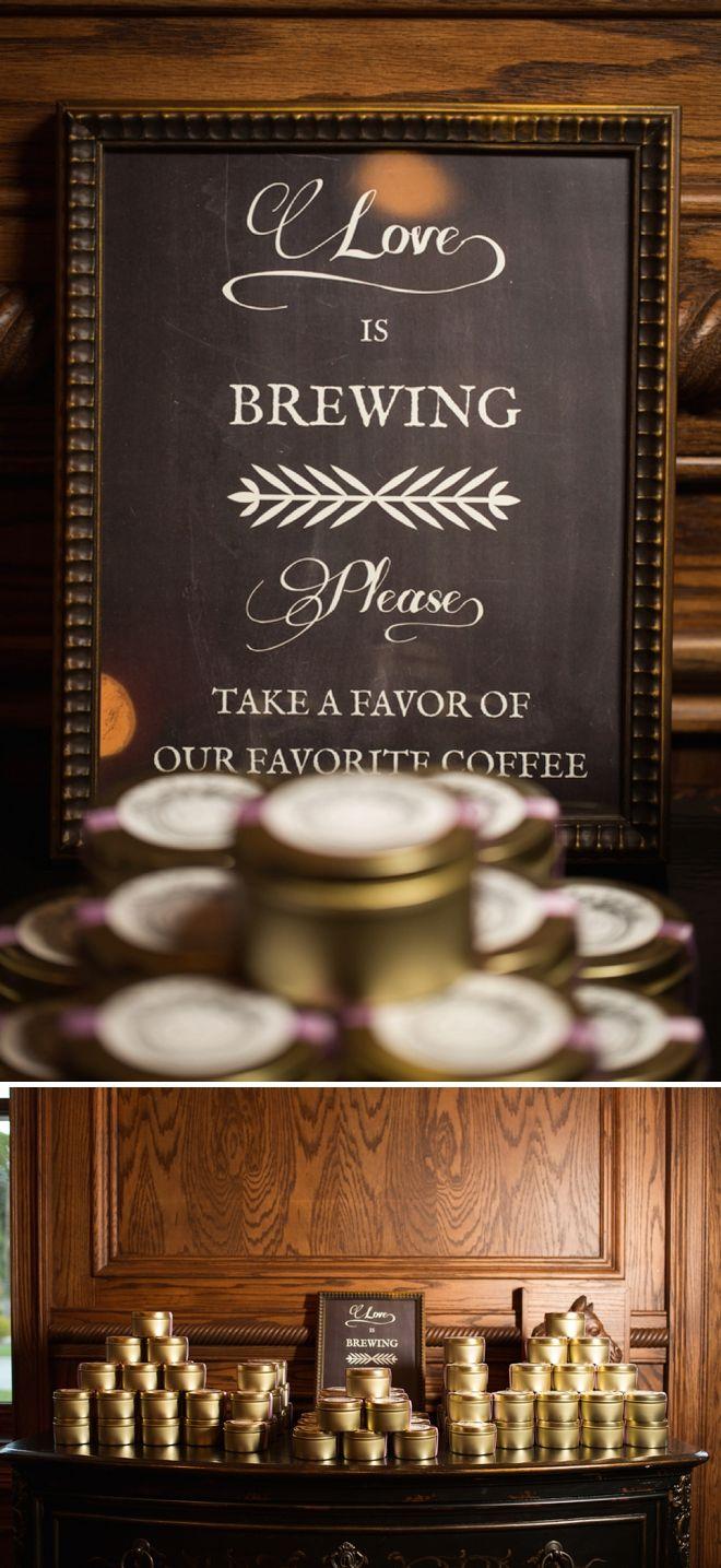 lavender handmade wedding day! | Coffee wedding favors