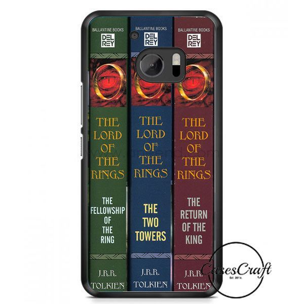 Lord Of The Rings Book Style Dvd Collection Set HTC One M10 Case