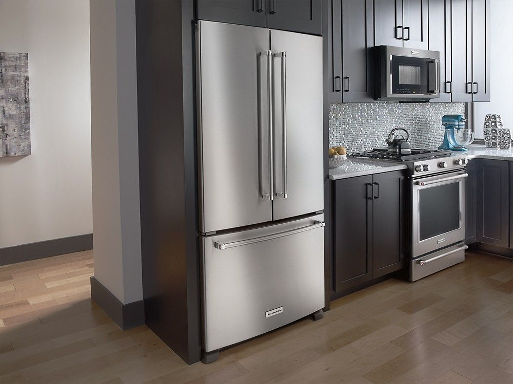 Kitchenaid 219 cu ft french door counterdepth