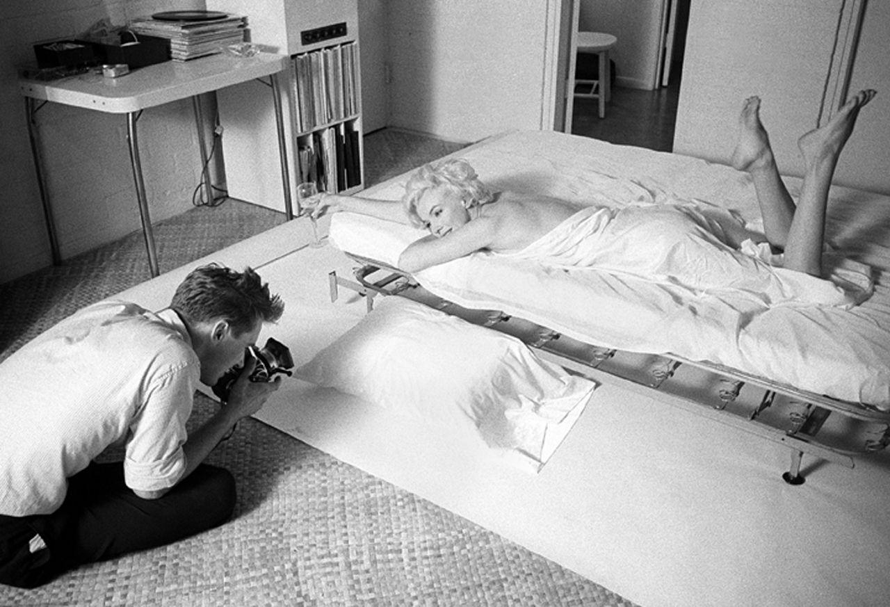 Kirkland has photographed it all. Charlie Chaplin, Brigitte Bardot, Andy Warhol, Angelina Jolie, trips with Pope John Paul II, royal weddings, a night with Marilyn…