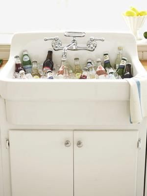 Kitchen Cooler Sink Interesting Image | Color your world photos ...