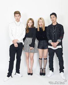 Kard Bm Somin Jiwoo And J Seph Kard Kpop Pop
