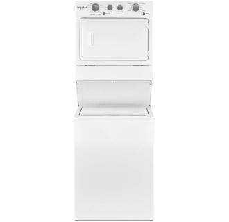 Whirlpool Ltg5243dq 24 Combination Washer Gas Dryer White