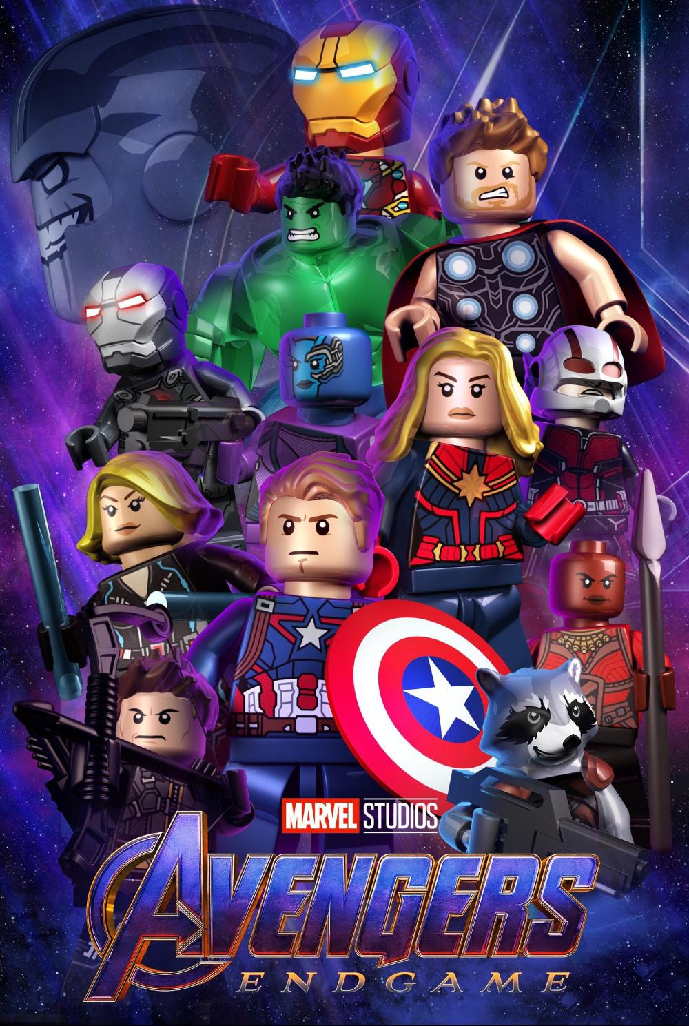 Lego Avengers Edgame Poster Etsy Lego Iron Man Lego Poster Avengers Poster