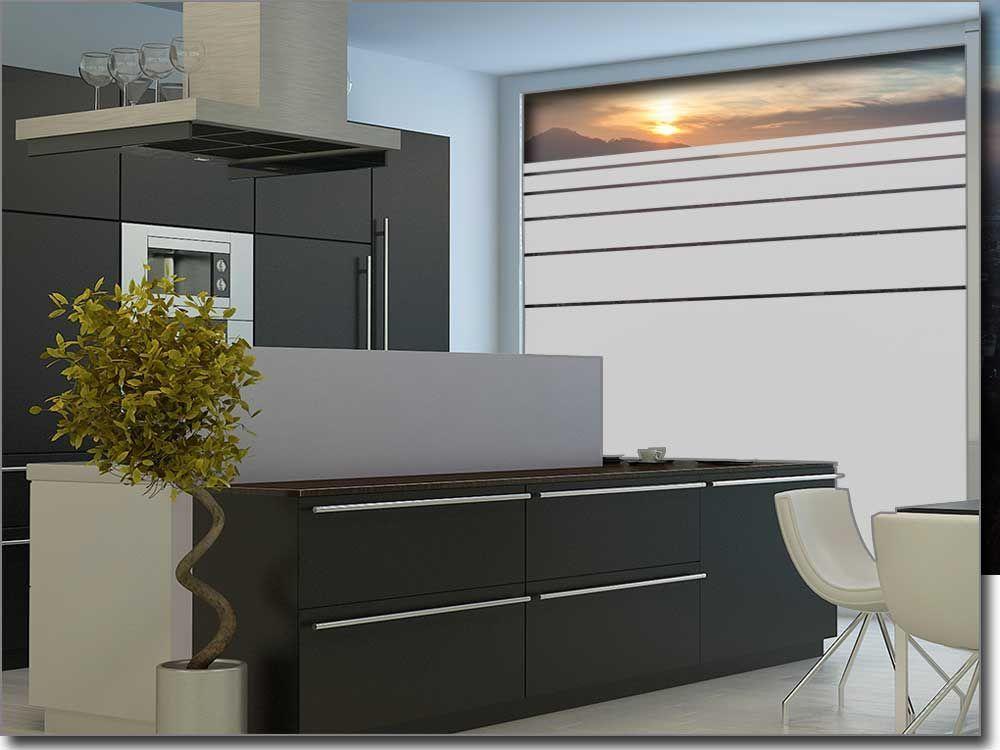 Folie für Fenster mit Streifen Fensterfolie Pinterest - folie für badezimmerfenster