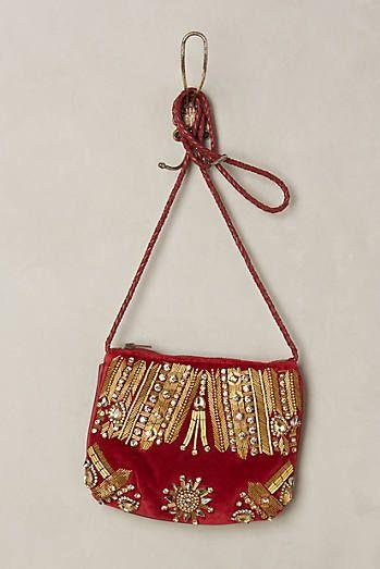 Gencia Beaded Velvet Bag