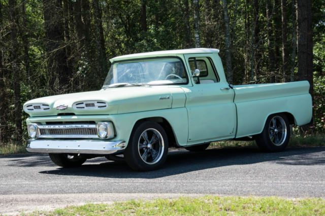 1961 Chevy Apache C10 Shop Truck Rat Rod Custom Hot Rod For Sale Photos Technical Specifications Description