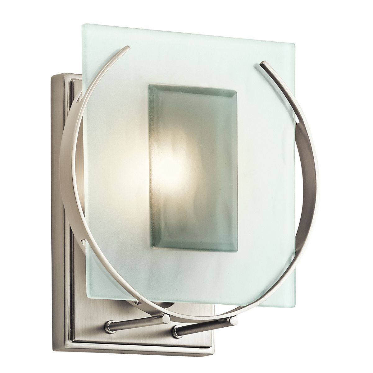 45072ni Manitoba Wall Sconce 1 Light Incandescent From Kichler