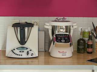 Küchenmaschine Moulinex ~ Robot blender moulinex qa g rouge bol inox l blender