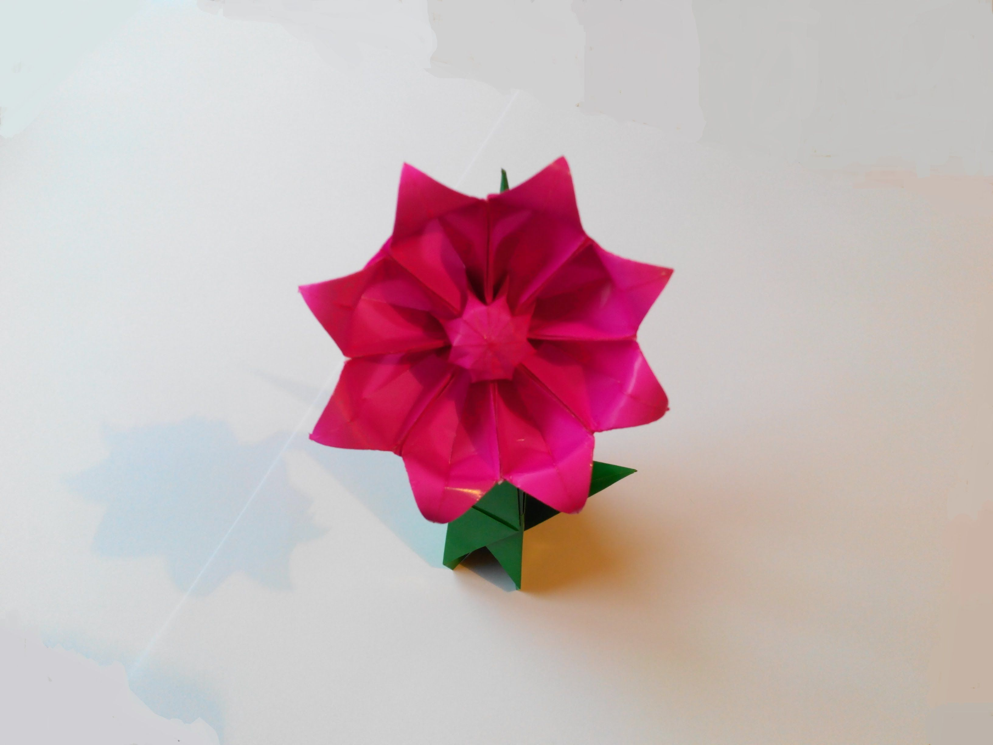 Origami Gerbera Origami Lily Origami Crafts Paper Flowers